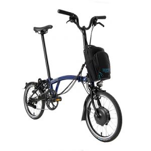 brompton electric h type bolt blue lacquer alt2