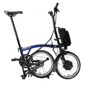 brompton electric h type bolt blue lacquer alt4