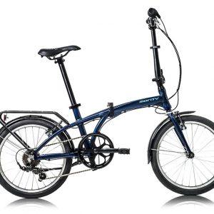 Bicicleta Monty plegable
