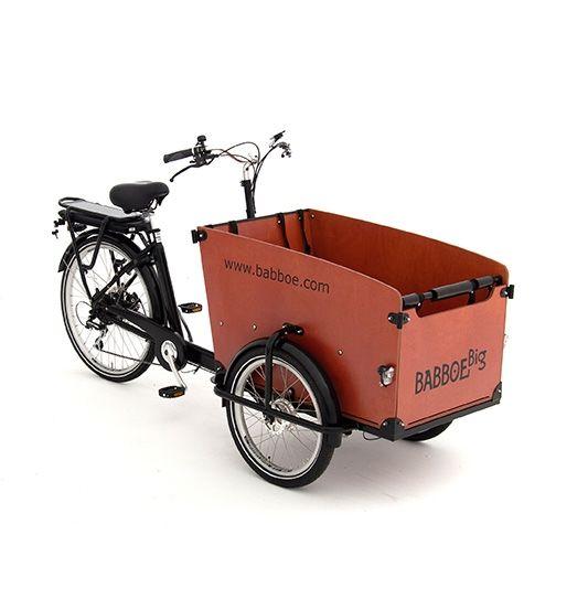 Bicicleta carga electrica Babboe Big