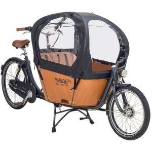 Capota bicicleta carga babboe city