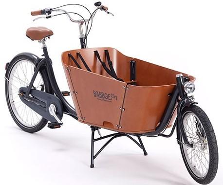 Bicicleta carga 2 ruedas Babboe city