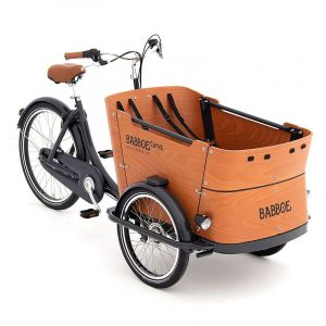Babboe Curve bicicleta carga